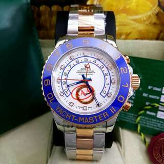 Rolex Yacht master Silver Rosegold White Garde AAA