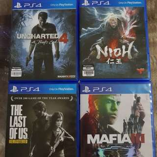 The Best PS4 Games for Sale or Swap