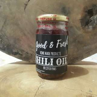 Good and Fresh Home Made Chili Oil