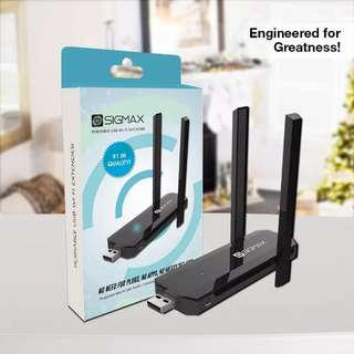 Sigmax USB Wifi Extender no more dead signal spots in your house! Original and Affordable!