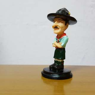 Baden Powell (Founder of Scouts) Figure