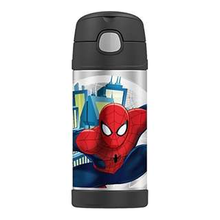 BRAND NEW Thermos Funtainer 12 Ounce Bottle, Spiderman Spider man