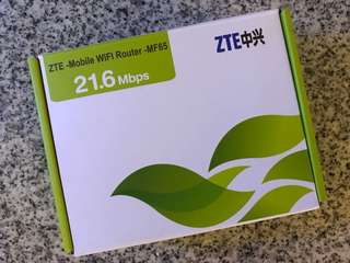 WiFi 蛋 / mobile router (MF65)