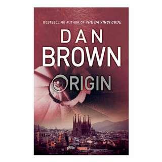 BRAND NEW ORIGIN by DAN BROWN
