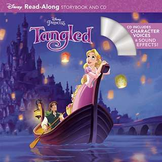 BRAND NEW Tangled Read-Along Storybook and CD