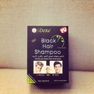 Dexe Black Shampoo