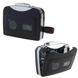 USB Audio Cassette Tape-to-MP3 Converter/Player
