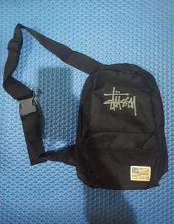Stussy troops shoulder bag