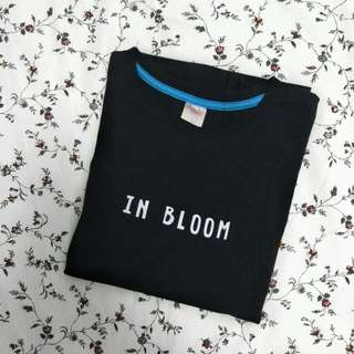 Black ulzzang t-shirt bts In Bloom