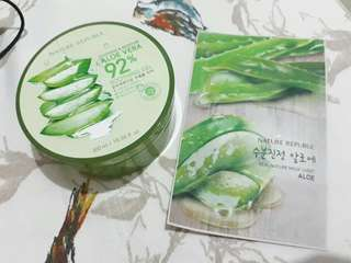 [With free Mask] Nature Republic Aloe Vera Gel