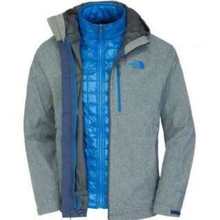 North Face 3合1  Down Jacket 男裝羽絨外套  風䄛 Columbia Nike Adidas