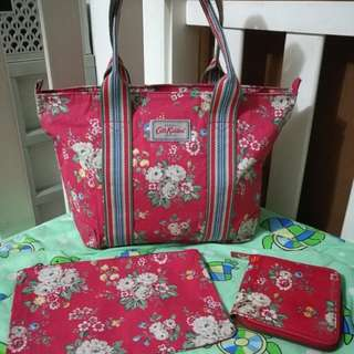 Cath Kidston Bag Pouch and Wallet