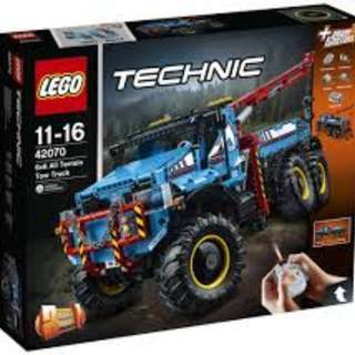 Lego 42070 6x6 All Terrain Tow Truck 24% OFF- (BNIB)
