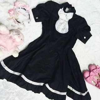 Dress maid japan black