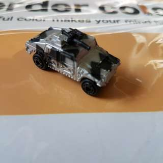 Misc Miniature Army vehicles at $0.50 each