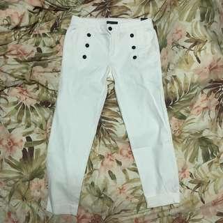 TOMMY HILFIGER WHITE PANTS