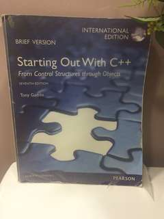 Starting Out With C++ 17th Edition