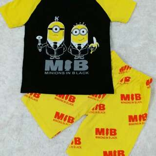 T Shirt minion MIB