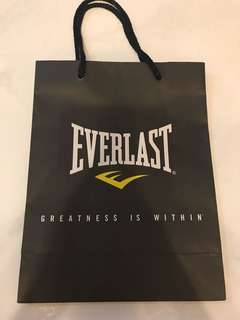 Everlast Paper Bag