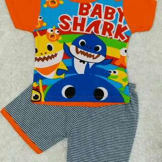 Baby shark short pants