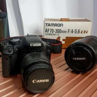 Canon Eos 550D with FREE MACRO LENS