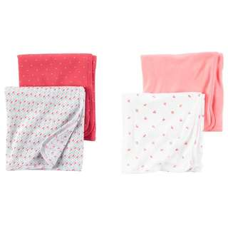 Carters Swaddle Blankets