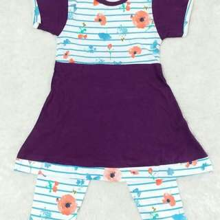 Flower sleep dress