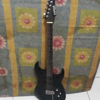 gitar listrik ibanez&viper