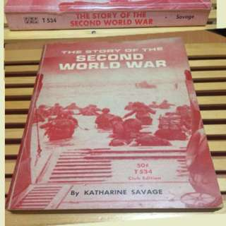 The Story of the Second World War by Katharine Savage
