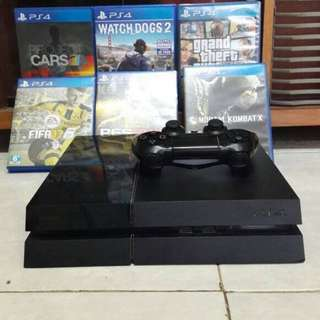 Preloved playstation 4 500gb good condition