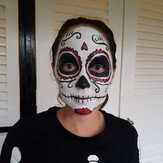 FACE PAINTING sugar skull