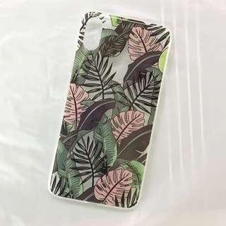 Pink green soft case