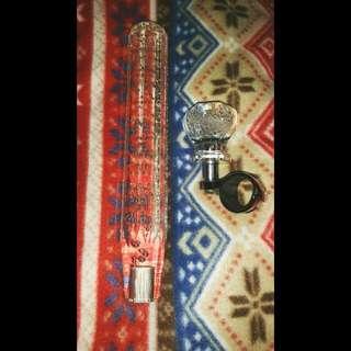 Dekotora Crystal Gear Knob And Crystal Steering Knob