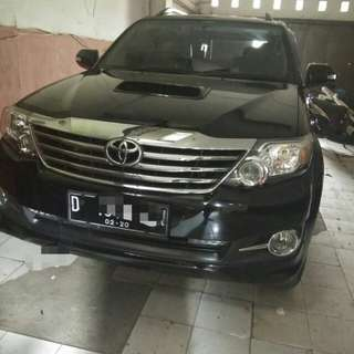 Fortuner 2,5 at type G 2015 matic