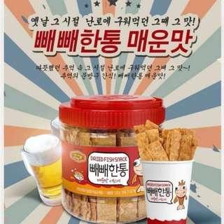🚚 {天天隨時分享購}韓國脆烤魚片120g