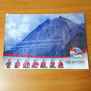 Indonesia 🇮🇩 Jupiter Team Aerobatic Display Team Singapore Airshow 2018 Posters