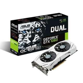 Asus Gtx 1060 6GB Dual OC