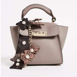 ZAC Zac Posen Butterfly Applique Eartha Mini Top Handle Bag