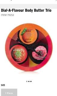 The Bodyshop body butter gift set