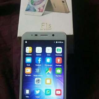 Brand new oppo f1s, complete package with warranty!!