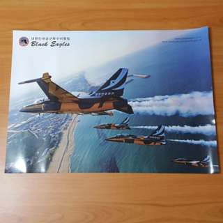 ROKAF🇰🇷Black Eagles Singapore Airshow 2018 Rare Posters