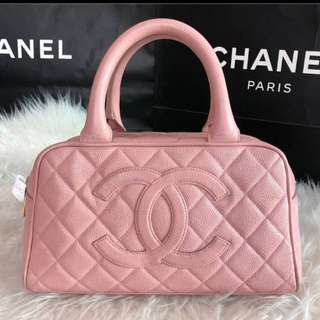 Authentic Chanel Boston handbag