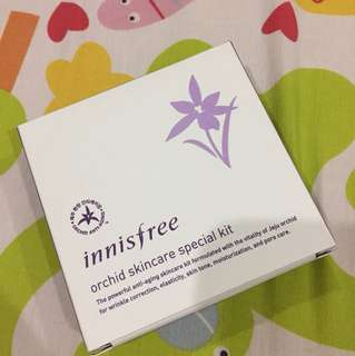 INNISFREE : orchid skincare special kit