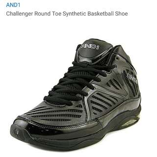 AND1 Chanllenger Round Toe Baskeball Shoe