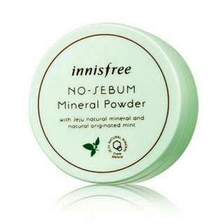 [PO] Innisfree No Sebum Mineral Powder 5g (Authentic)