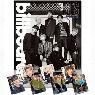 Billboard BTS BOX Limited Edition Set LOOSE