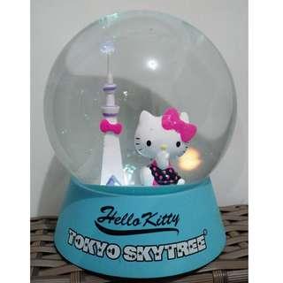 Hello Kitty x Tokyo Skytree Snow Ball