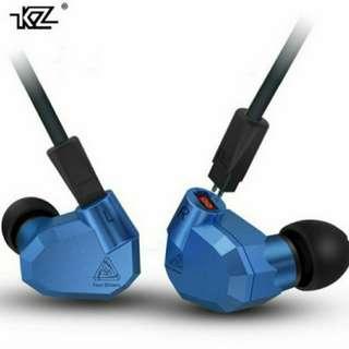 入耳式耳機 KZ ZS5 (耳機+鍍銀線+藍牙線)全套