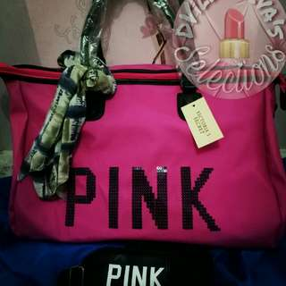Repriced and Onhand!!! Pink by Victoria's Secret Travel, Duffle, Gym bag