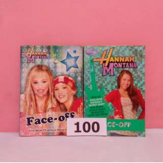 Hanna Montana Face-off (2 for 100 only)